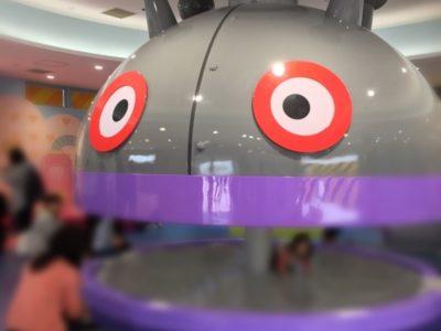 神戸アンパマンこどもミュージアム&モールにバイキンひみつ基地ができました!