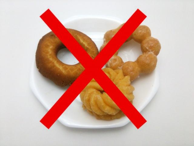 家計の節約のためにお菓子を買うのを控えることにしました。すると出費も体重も減って、ダイエットに成功しました。