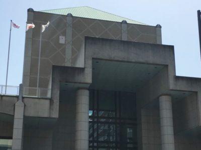 横浜市歴史博物館の外観アップはこんな感じです。