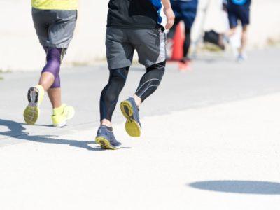 今は中学生になる息子と小学生の頃から一緒にジョギングしています。