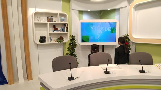 SKIPシティ映像ミュージアムでアナウンサー体験をしてきました。