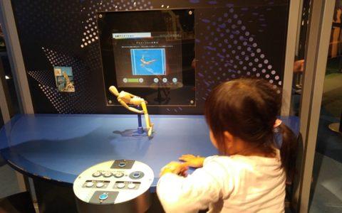 、ゲーム展やVR体験など、最新の科学が感じられるコーナーが期間ごとにいろいろと 展示されます。