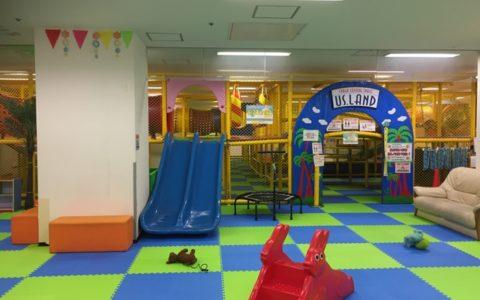 Kid's US.LANDセルバ甲南山手店は雨の日に子連れで遊ぶには最適のスポットです。